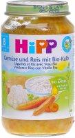 Product picture of Hipp Gemüse U Reis M Kalbfleisch 8m Bio Glas 220