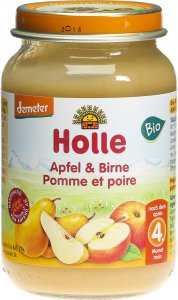 Product picture of Holle Apple & Pear from the 4th month Organic 190g