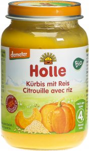 Product picture of Holle Pumpkin with Rice from the 4th month organic 190g