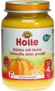Product picture of Holle Pumpkin with Chicken from the 4th month Organic 190g