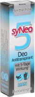 Produktbild von Syneo 5 Deo Antitranspirant Man Pumpspray 30ml