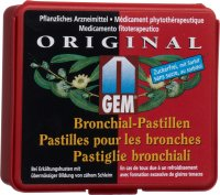 Gem Bronchialpastillen Zuckerfrei 65g