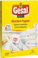 Immagine del prodotto Gesal Motten Papier 12 Stück