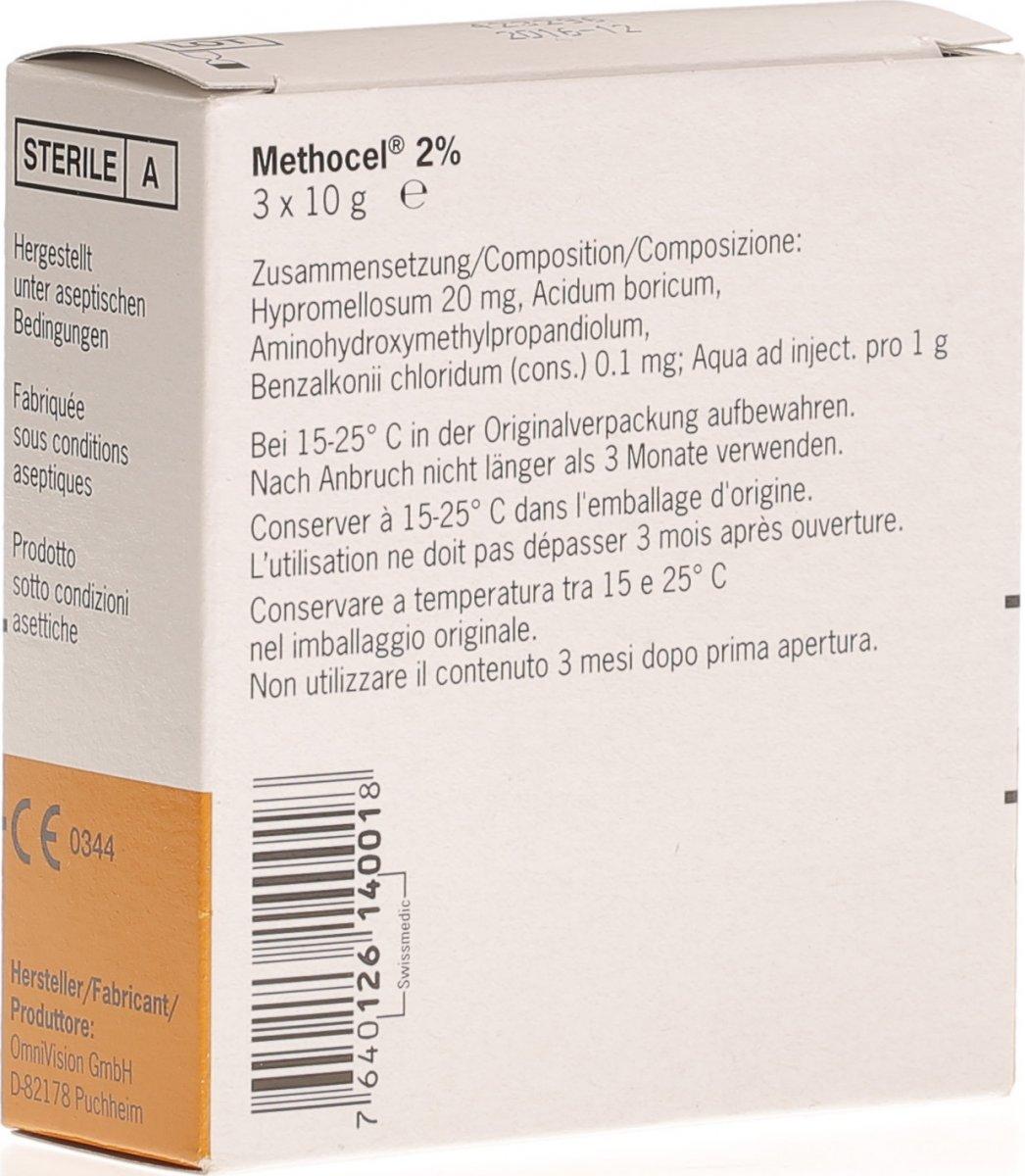 Methocel brand label