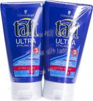 Taft Ultra Strong Styling Gel Duo 2 Tube 150ml