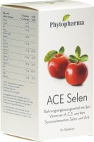 Product picture of Phytopharma Ace Selen Zink Tabletten 80 Stück