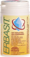 Product picture of Erbasit basische Mineralsalz-Tabletten mit Kräutern ohne Lactose Dose 128 Stück
