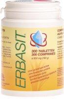 Product picture of Erbasit basische Mineralsalz-Tabletten mit Kräutern ohne Lactose Dose 300 Stück