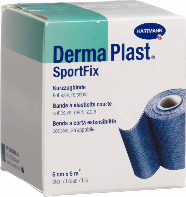 dermaplast sportfix elastische binde 6cmx5m blau in der. Black Bedroom Furniture Sets. Home Design Ideas