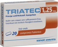 Triatec Tabletten 1.25mg 20 Stück