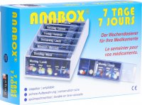 Product picture of Anabox 7 Days blue Medidispenser