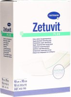 Zetuvit Plus Absorptionsverband 10x10cm 10 Stück