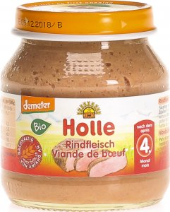 Product picture of Holle Beef from the 4th month Organic 125g