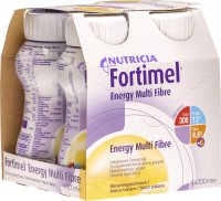 Fortimel Energy MultiFibre Banane 4x 200ml