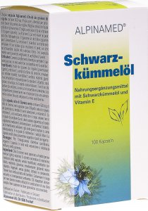 Product picture of Alpinamed Black Cumin Oil Capsules 100 pieces