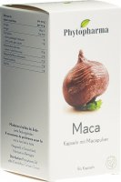 Product picture of Phytopharma Maca Kapseln 409mg Pflanzlich 80 Stück