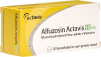 Alfuzosin Actavis Retard Tabletten 10mg 30 Stück