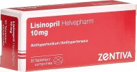 Lisinopril Helvepharm Tabletten 10mg 30 Stück