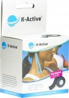 Immagine del prodotto K-active Kinesio Tape 5cmx5m Schwarz Wasserabweisend