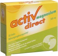 Magnesium Activ Direct Mikropellets 300mg 20 Stück