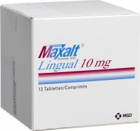 Maxalt Lingual Tabletten 10mg 12 Stück