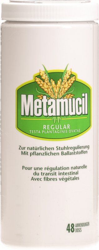 Metamucil is the best-known psyllium product, but psyllium is also available in less expensive store brands of laxatives. Psyllium can help relieve both constipation and diarrhea, and is used to treat irritable bowel syndrome and other intestinal problems.