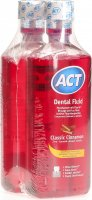 Act Dental Fluid Classic Cinnamon Duo 2x 500ml