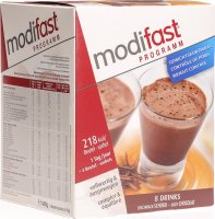 Modifast Weight Loss Program Drink Schokolade 8x 55g