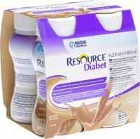Resource Diabet Drink Kaffee 4x 200ml