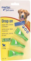 Martec Pet Care Drop On für Hunde -15kg 3x 1ml