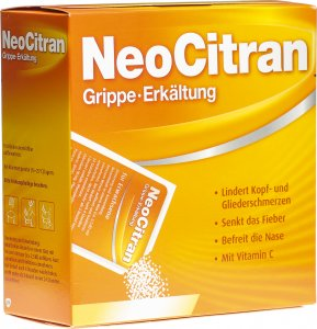 Product picture of Neo Citran Grippe Erkältung 12 Beutel