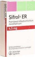 Immagine del prodotto Sifrol ER Retard Tabletten 4.5mg 30 Stück