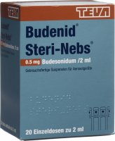 Budenid Steri Nebs Inhalation Suspension 0.5mg/2ml 20x 2ml