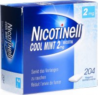 Nicotinell Cool Mint 2mg 204 Kaugummi
