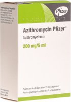 Produktbild von Azithromycin Pfizer Suspension 200mg/5ml 15ml