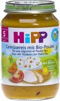 Image du produit Hipp Gemüsereis mit Bio-Poulet Glas 190g