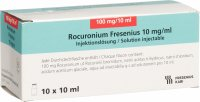 Rocuronium Fresenius 100mg/10ml 10 Ampullen 10ml