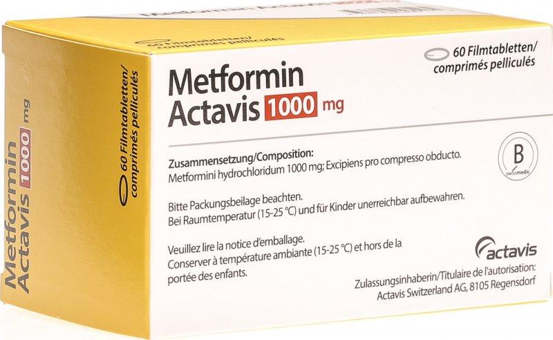 metformin zur gewichtsreduktion