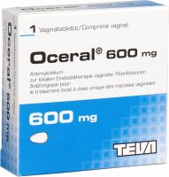 Oceral Vaginaltabletten 600mg