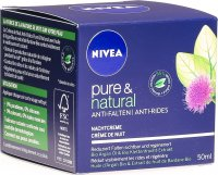 Nivea Visage Pure & Natural Anti-Falten Nachtcreme 50ml