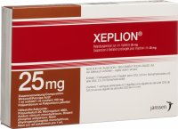 Xeplion Injektionssuspension 25mg/0.25ml Fertigspritze 0.25ml