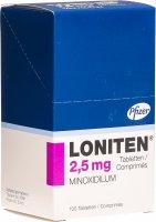 Immagine del prodotto Loniten Tabletten 2.5mg Blister 100 Stück