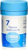 Product picture of Omida Schüssler Nr. 7 Magnesium Phosphoricum Tabletten D6 20g