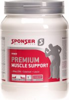 Sponser Premium Muscle Support Strawberry Dose 425g