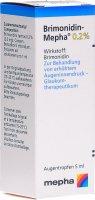 Immagine del prodotto Brimonidin Mepha Augentropfen 0.2% 5ml