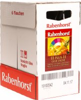 Rabenhorst 11 Plus 11 Gelb 6x 750ml
