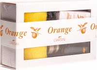 Lanature Orange Bad Geschenkbox 4teilig