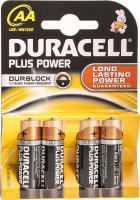 Image du produit Duracell Plus Power MN1500 AA 1.5V 4 Stück