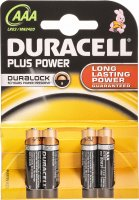 Image du produit Duracell Plus Power MN2400 AAA 1.5V 4 Stück