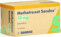 Methotrexat Sandoz Tabletten 10mg 10 Stück